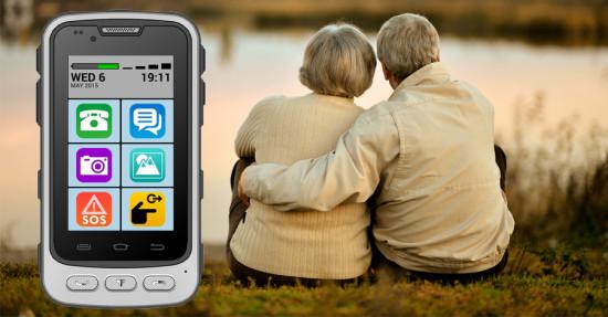 senior smartphone